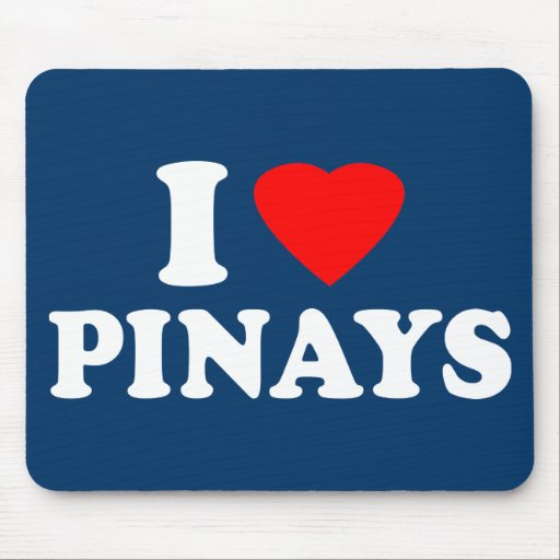 I Love Pinays Mouse Pad