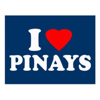 I Love Pinays Postcard