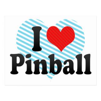 I Love Pinball Postcard