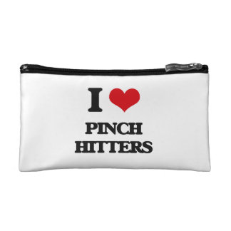 I Love Pinch Hitters Makeup Bags