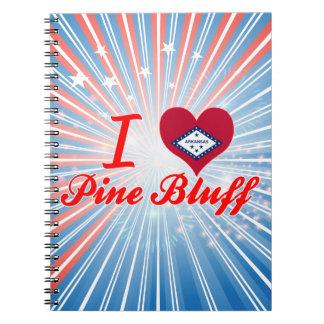 I Love Pine+Bluff, Arkansas Note Books