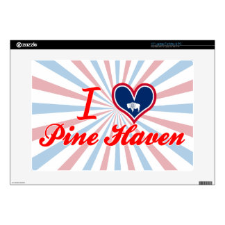 I Love Pine Haven Wyoming Decal For Laptop
