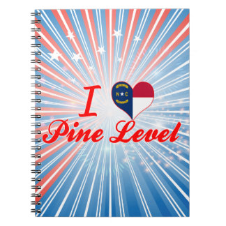 I Love Pine Level, North Carolina Note Book