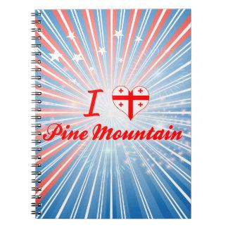 I Love Pine Mountain, Georgia Notebooks