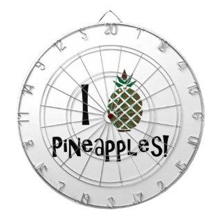 I Love Pineapples Dart Boards