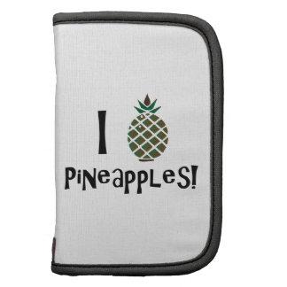 I Love Pineapples Folio Planner