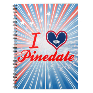 I Love Pinedale, Wyoming Notebooks