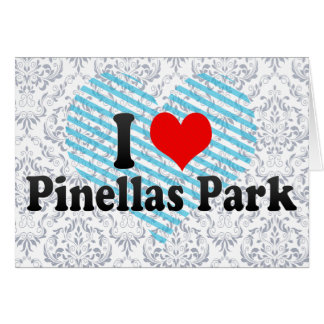 I Love Pinellas Park, United States Card