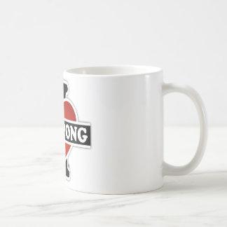 I Love Ping Pong Coffee Mug