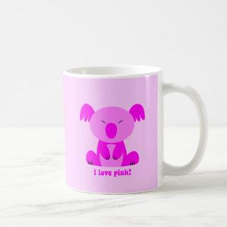 I love pink Koala Bear Coffee Mug