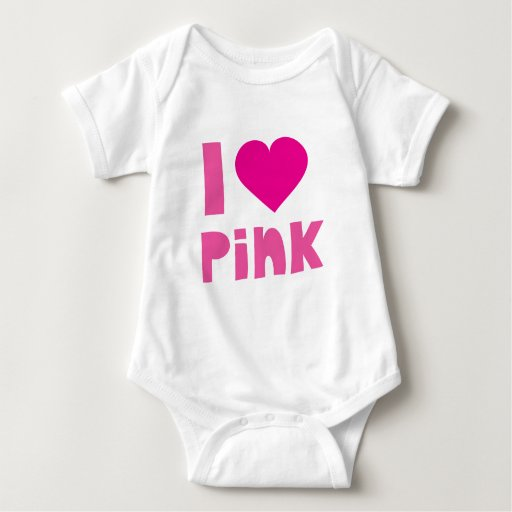 I love pink t shirts