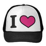 I love pink trucker hat