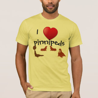 I Love Pinnipeds T-shirt