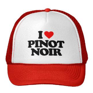 I LOVE PINOT NOIR TRUCKER HAT