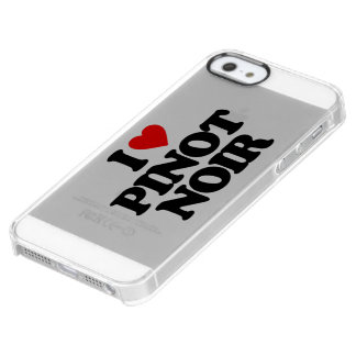 I LOVE PINOT NOIR UNCOMMON CLEARLY™ DEFLECTOR iPhone 5 CASE