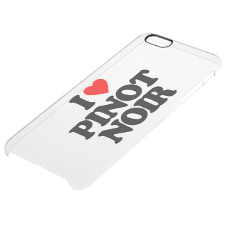 I LOVE PINOT NOIR UNCOMMON CLEARLY™ DEFLECTOR iPhone 6 PLUS CASE