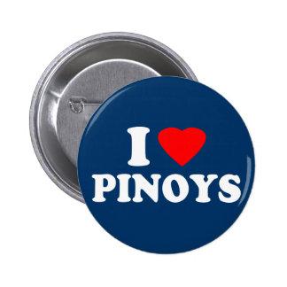 I Love Pinoys Pinback Button