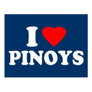 I Love Pinoys Postcard
