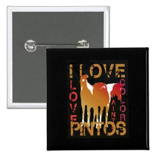 I Love Pintos gifts greetings Pin
