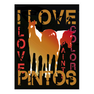 I Love Pintos gifts & greetings Postcard