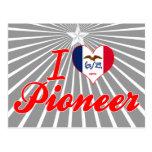 I Love Pioneer, Iowa Postcard
