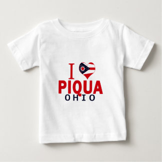 I love Piqua, Ohio Baby T-Shirt