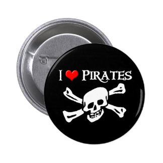 I Love Pirates iHeart Button