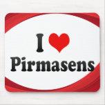 I Love Pirmasens, Germany Mouse Pad