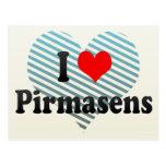I Love Pirmasens, Germany Postcard