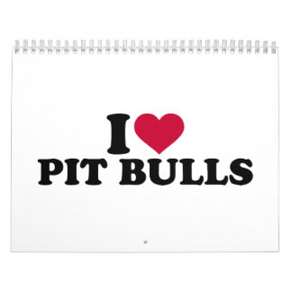 I love Pit Bulls Calendar