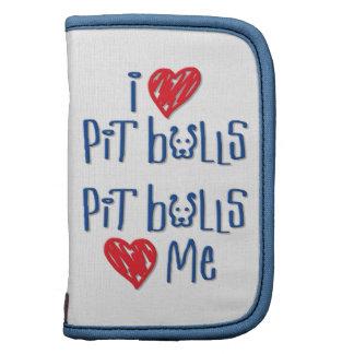 I Love Pit Bulls - Pit Bulls Love Me Organizer