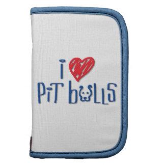 I Love Pit Bulls Planner