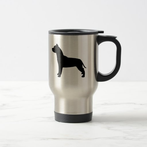 I Love Pit Bulls Travel Mug