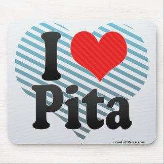 I Love Pita Mouse Pad