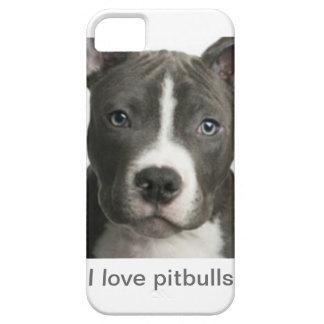 I love pitbulls iPhone 5 covers