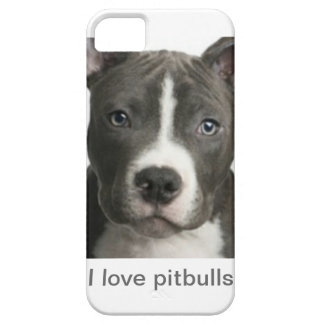 I love pitbulls iPhone SE/5/5s case