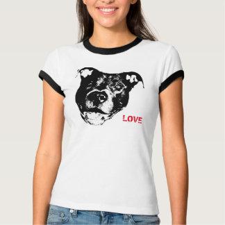 I Love Pitbulls Logo Design - Cool Trendy & Hip T Shirts
