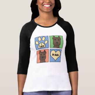 I Love Pitbulls T Shirt