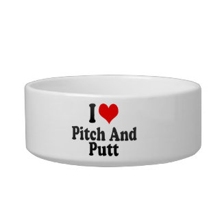 I love Pitch And Putt Pet Bowls