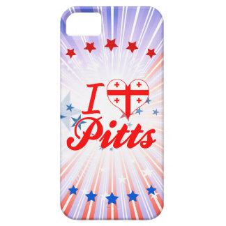 I Love Pitts Georgia iPhone 5 Case
