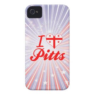 I Love Pitts Georgia Case-Mate iPhone 4 Case
