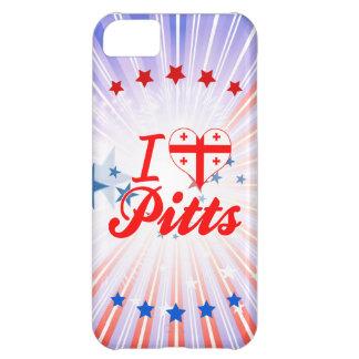 I Love Pitts Georgia iPhone 5C Case
