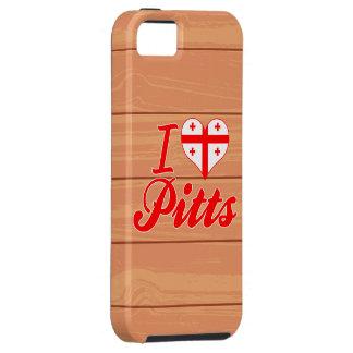 I Love Pitts Georgia iPhone 5 Cases