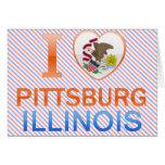 I Love Pittsburg, IL Greeting Card