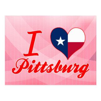 I Love Pittsburg, Texas Postcards