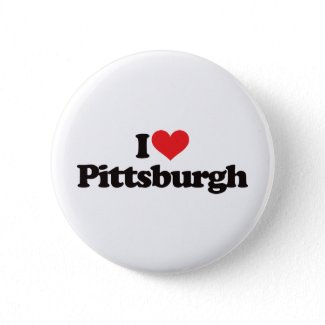 I Love Pittsburgh button