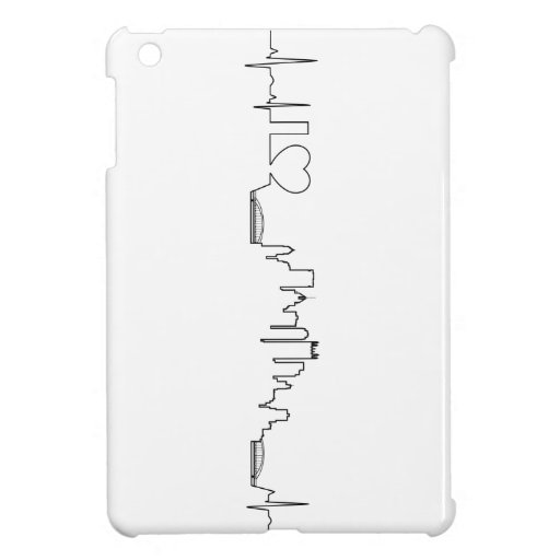 I love Pittsburgh in an extraordinary ecg style Case For The iPad Mini