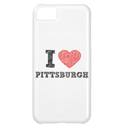 I-Love-Pittsburgh iPhone 5C Cases