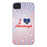 I Love Pittsburgh, Pennsylvania Case-Mate iPhone 4 Case