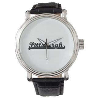 I love Pittsburgh Pennsylvania Classic Design Wrist Watch